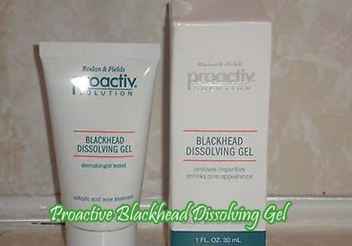 Proactive Blackhead Dissolving Gel