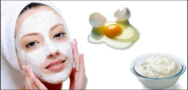 Egg white face mask blackheads