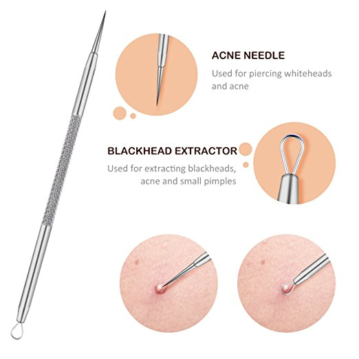 Top 10 Best Blackhead and Pimple Remover Tools Kit review 2019