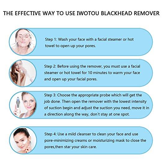 Blackhead remover guide