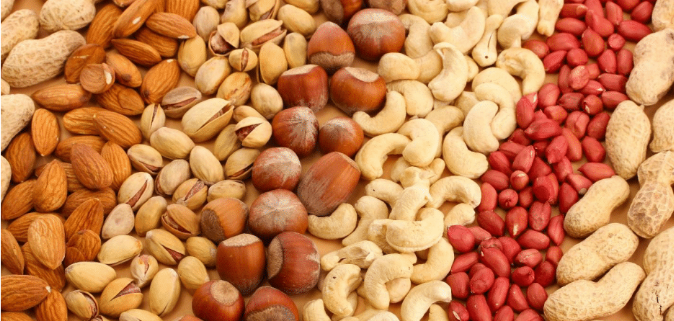 nuts types