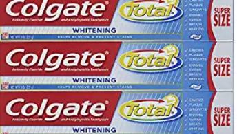 Toothpaste for freshness.